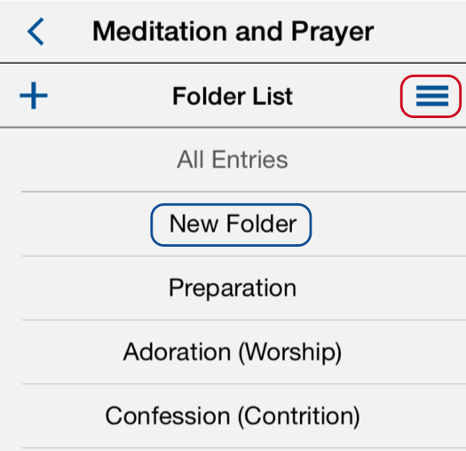 Blue Folder List-New Folder 525px